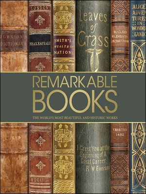 cover image of Remarkable Books