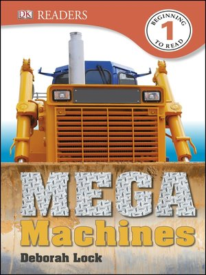 cover image of Mega Machines