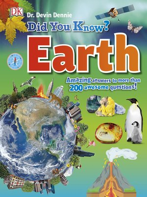 cover image of Did You Know? Earth