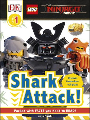 cover image of The Lego Ninjago Movie: Shark Attack!