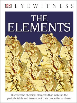 cover image of DK Eyewitness Books: The Elements