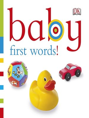 cover image of Baby - First Words!