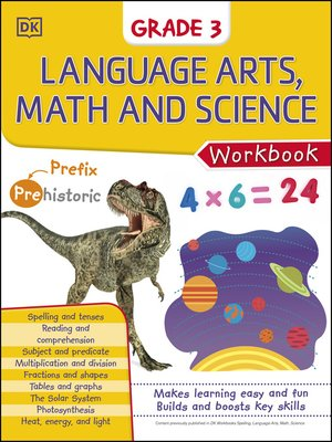 cover image of Language Arts, Math, and Science: Grade 3