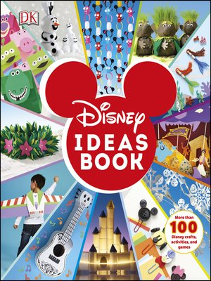 cover image of Disney Ideas Book