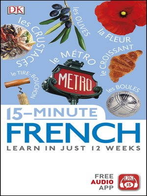 cover image of 15-Minute French