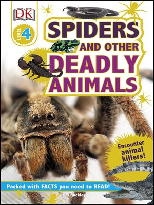 cover image of Spiders and Other Deadly Animals