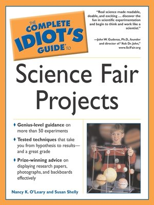 cover image of The Complete Idiot's Guide to Science Fair Projects