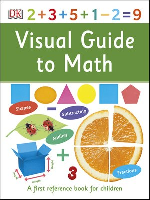 cover image of Visual Guide to Math