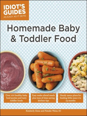 cover image of Homemade Baby & Toddler Food