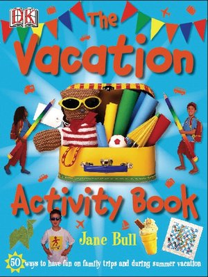 cover image of The Vacation Activity Book
