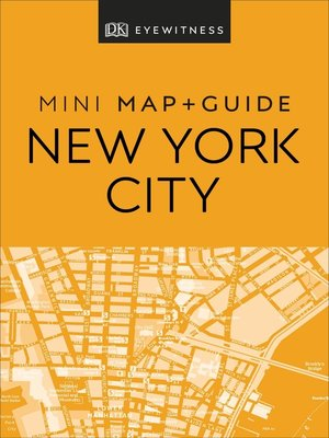 cover image of DK Eyewitness New York City Mini Map and Guide