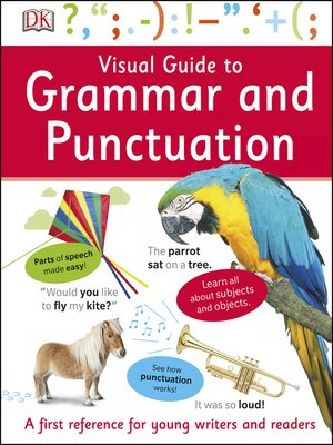 cover image of Visual Guide to Grammar and Punctuation