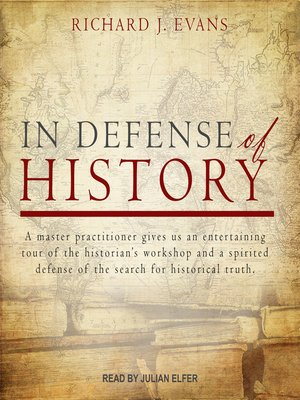 cover image of In Defense of History