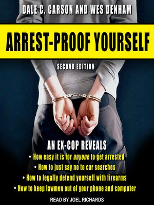 cover image of Arrest-Proof Yourself