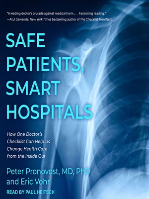cover image of Safe Patients, Smart Hospitals