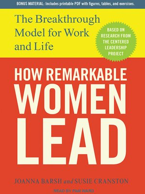 cover image of How Remarkable Women Lead