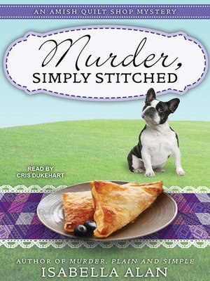 cover image of Murder, Simply Stitched