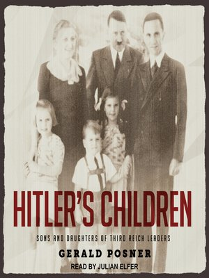 cover image of Hitler's Children
