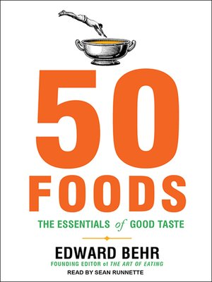 cover image of 50 Foods