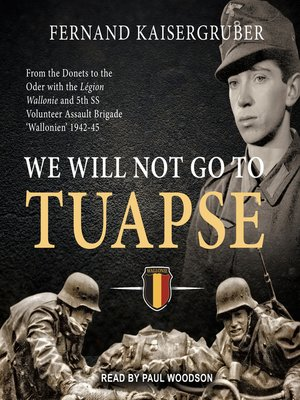 cover image of We Will Not Go to Tuapse