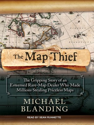 cover image of The Map Thief