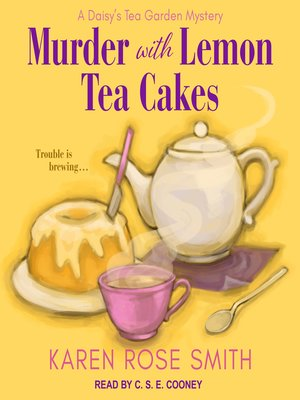 cover image of Murder with Lemon Tea Cakes