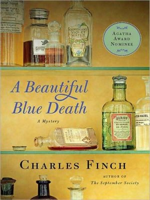cover image of A Beautiful Blue Death