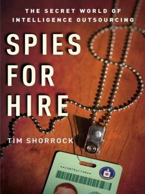 cover image of Spies for Hire