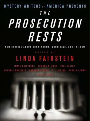 cover image of Mystery Writers of America Presents the Prosecution Rests