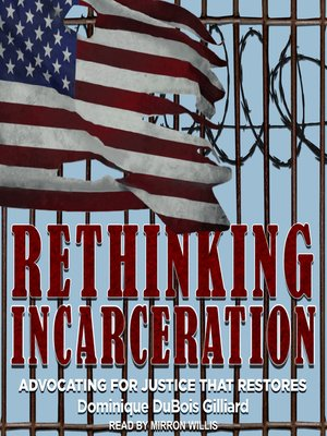 cover image of Rethinking Incarceration
