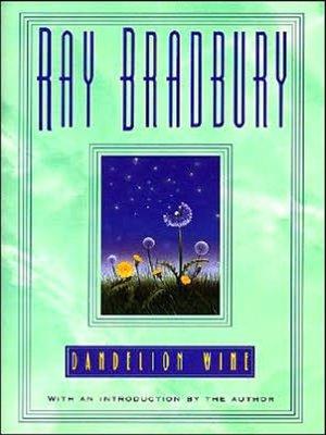 cover image of Dandelion Wine