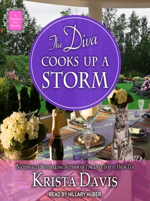 cover image of The Diva Cooks Up a Storm