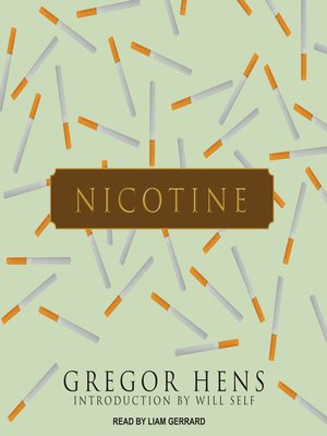 cover image of Nicotine
