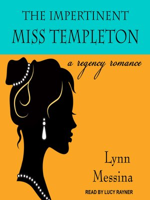 cover image of The Impertinent Miss Templeton--A Regency Romance