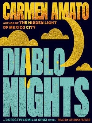 cover image of Diablo Nights--An Emilia Cruz Novel