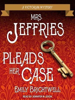 cover image of Mrs. Jeffries Pleads Her Case