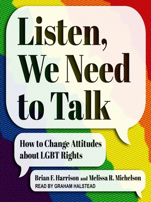 cover image of Listen, We Need to Talk