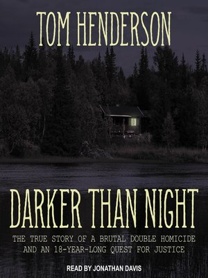 cover image of Darker than Night