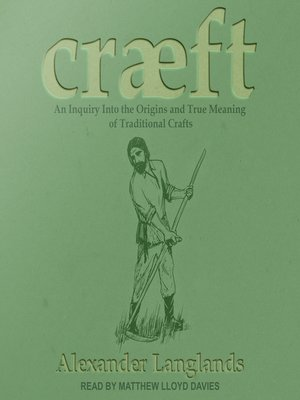 cover image of Cræft