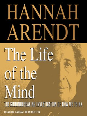 cover image of The Life of the Mind