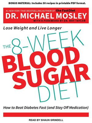 cover image of The 8-Week Blood Sugar Diet