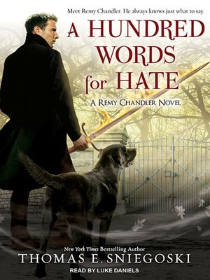 cover image of A Hundred Words for Hate--A Remy Chandler Novel