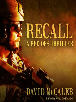 cover image of Recall--A Red Ops Thriller