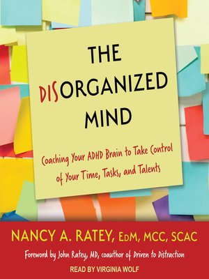 cover image of The Disorganized Mind