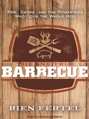cover image of The One True Barbecue