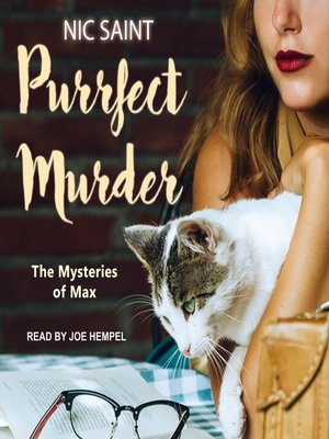 cover image of Purrfect Murder