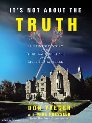 cover image of It's Not About the Truth