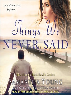 cover image of Things We Never Said
