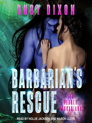 cover image of Barbarian's Rescue