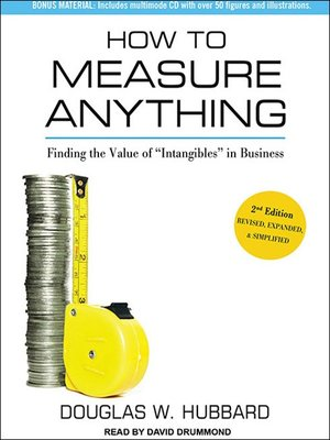 cover image of How to Measure Anything